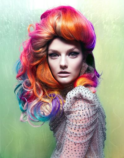 Rainbow Hair @Vixen Magazine