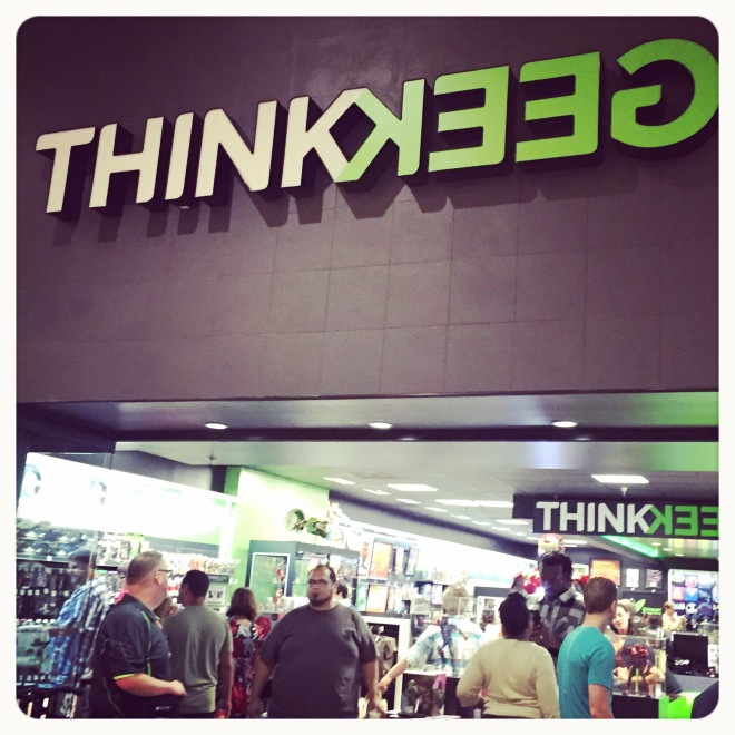 Think Geek Store Front at the Florida Mall