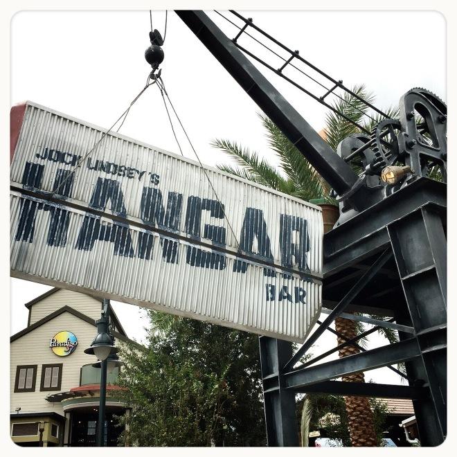 Jock Lindsey's Hangard Bar at Disney Springs