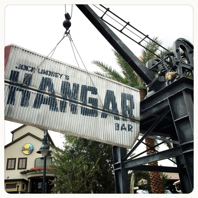 Jock Lindsey's Hangard Bar at Disney Springs