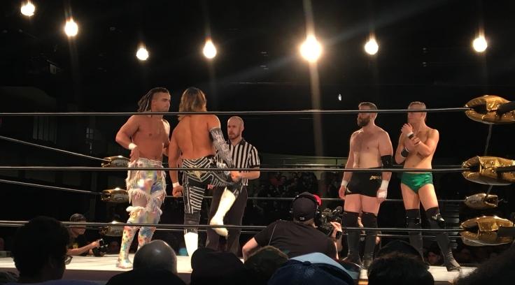 Juice & Tanahashi vs. Aussie Open at RevProUK NOLA